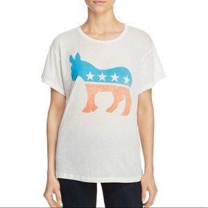 NEW Wildfox Democrat Party Animal Tee